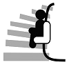 Kurviger Treppenlift