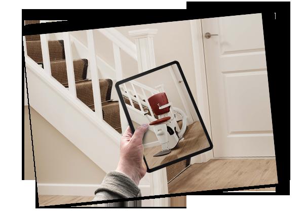 Treppenlift 3D Visualisierung Anfragen